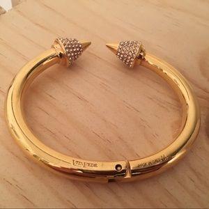 Vita Fede gold titan crystal cuff MEDIUM